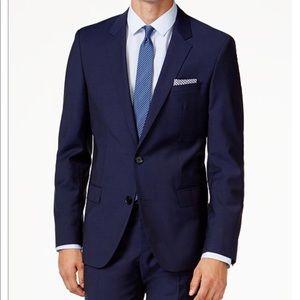 Hugo Boss Adris1 Blue Suit Slim Fit Jacket